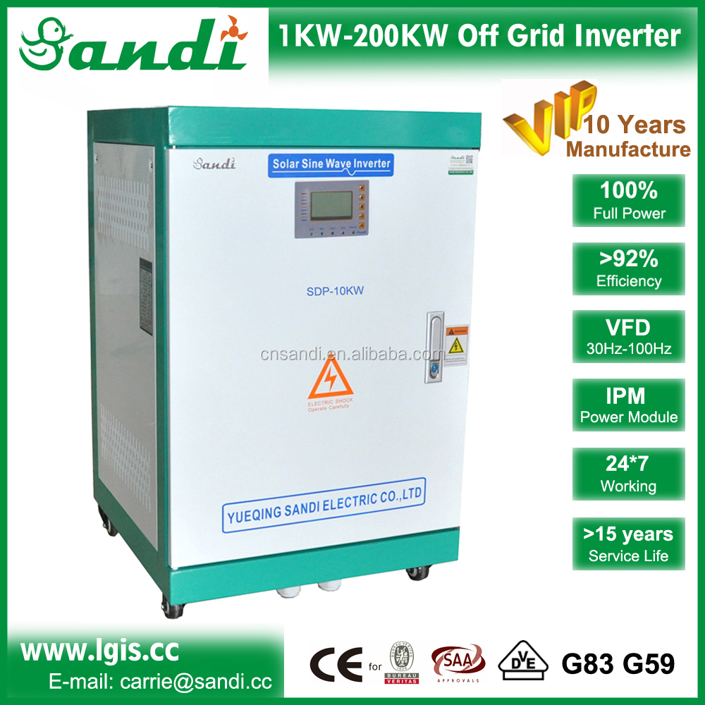 Isolated 10kw off grid solar panel kit , 10kw solar power plant for house,farm,office,building,etc
