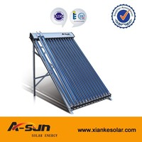 split pressurized three target concentrated vacuum tube solar collector
