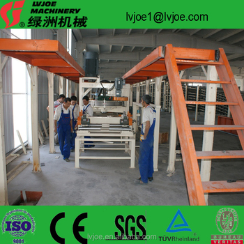 Overseas engineering plaster gypsum board equipments/production line