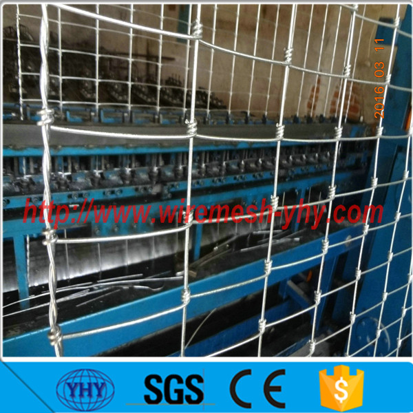 hot dipped galvanized wire heavy duty cattle corral panels mesh grassland fence