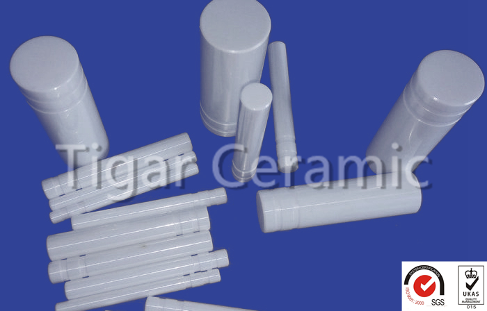 95% 96% 99% alumina ceramic rod for ignition electrode with good quality assurance and fast delivery time