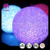ShengHui 12cm Color Changing New Fashion Colorful Gradient Crystal Rice Night Light,LED Moon Light