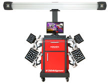 High Accuracy 3d wheel alignment, 3d wheel aligner john bean