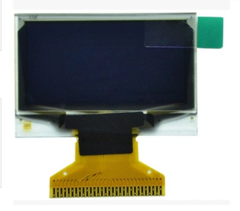 small size 96x64 OLED display i2c interface