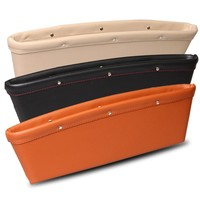 Factory Wholesale Different Colors PU Leather Car Seat Pocket Organizer