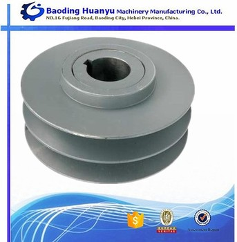 Ceramic Industry GG20 Casting Iron V Section Belt Pulley