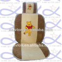 Cartoon car seat cover set