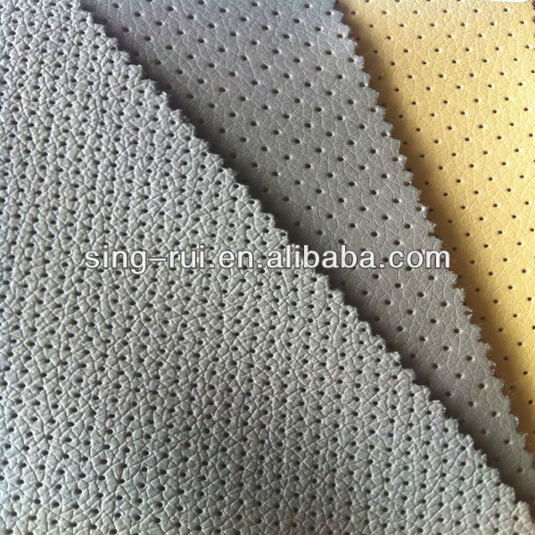 Raw material sofa pu synthetic leather