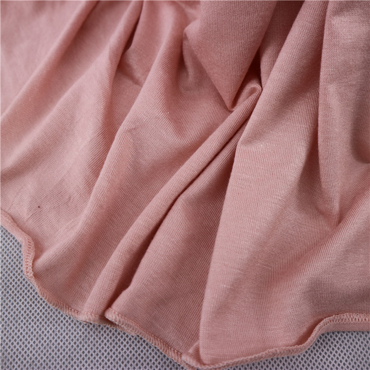Plain Solid Color Jersey Hijab High Quality Can Custom Color Women Long Shawl Wraps Scarves