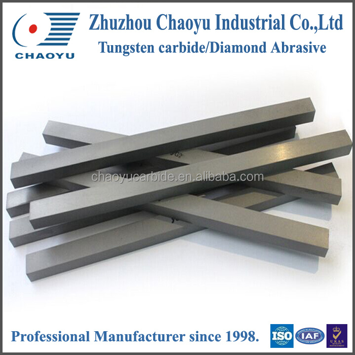 Cemented carbide STB strips and DSTB double strips for brazed cutters