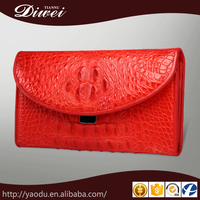 WHOLESALE PRICE CUSTOM CROCODILE CLUTCH PURSE , WOMEN LEATHER WALLET