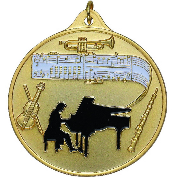 Free design custom embossed metal music events medal fashion Creative dance competition 3D medal