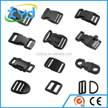 Plastic Buckle, D Ring Belt Buckle,Tri-glide Buckle for Garment