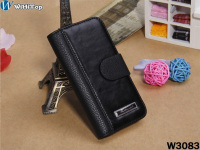 for iphone 5 holster leather case,credit card slot wallet leather case for iPhone 5
