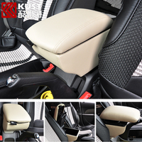 KUST Modified Armrest Box Storage For Cruze 2009-2014 Central Store Content Box For Chevrolet Car Console Armrest Box For Cruze