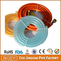 "Plastic Tube For Gas Bottle, PVC Tube For Gas Cylinder, 3mm Thickness 3/8"" Flexible LPG PVC Gas Hose Pipe"