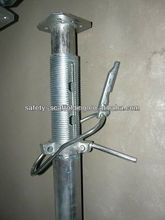 adjustable construction scaffolding prop