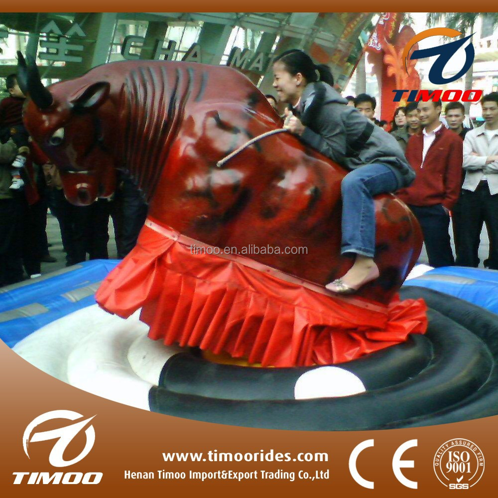 Factory Offer!!! Amusement park rides cheap inflatable mechanical rodeo bull price for sale