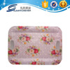 Plastic flower decor home decoration dinner set melamine tray
