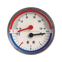LOW PRICE BOURDON TUBE TYPE all Stainless Steel electric contact pressure gauge