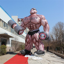 Attractive giant Inflatable man for park decoration