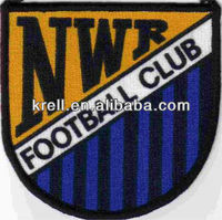 customized football club embroidery badge patch make your own design