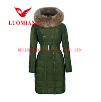 unique fashion fur trim long women warm winter thin best online shopping down coats F15W-103