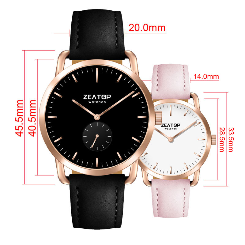 CHRONOS Brand Quartz Watch men Casual Business Leather Strap Watch Men's Relogio gift Male Calendar Clock