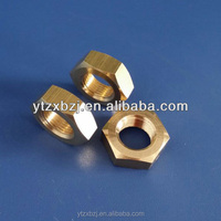 high quality brass inside threaded nut made in china