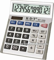 12 digits electronic calculator KT-3388
