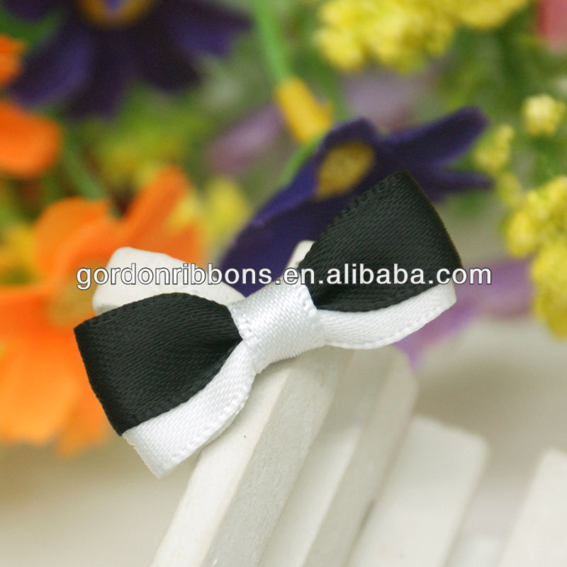 Garment Accessory Satin Ribbon Bow,ribbon bow for lingerie, underwear bow