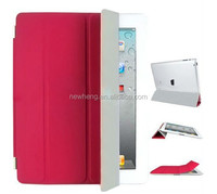 For iPad 2 / 3 Smart Cover Slim Magnetic PU Leather Case Wake/ Sleep Stand