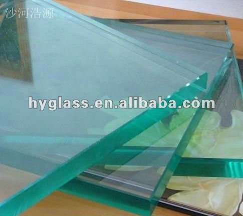 2-19mm clear/colored plain float glass