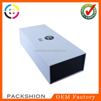 1200G paper board folding packaging box with magnet closure