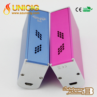 New Hot Seller Indulgence 60W Aluminum Mutation Box Mod Ego Mod Vapor Electronic Cigarette