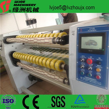 High Speed Plastic Film Slitting and Rewinding Machine