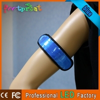 adjustable silicon funny health wristband
