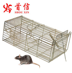 Live Animal Humane Trap Cage Catch and Release Rats Mouse Mice Rodents Cage