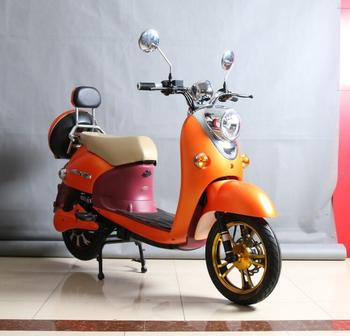 450W pedal assist adult vespa electric scooter