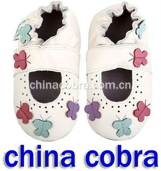 soft sole leather baby sandals baby slippers