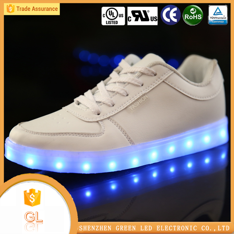 China manufacturer high quality lighting flashing luminous buy cheap used shoes online