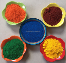 iron oxide red /yellow/ black /blue/ brown