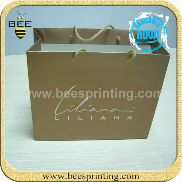 brown paper bag bag for packaging company names of bag