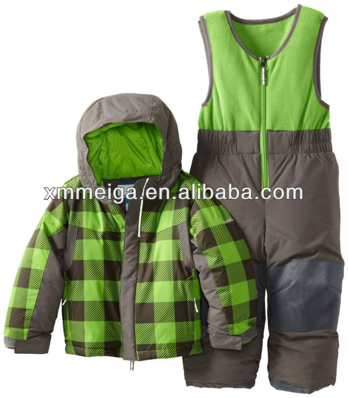 ski jacket and pants set