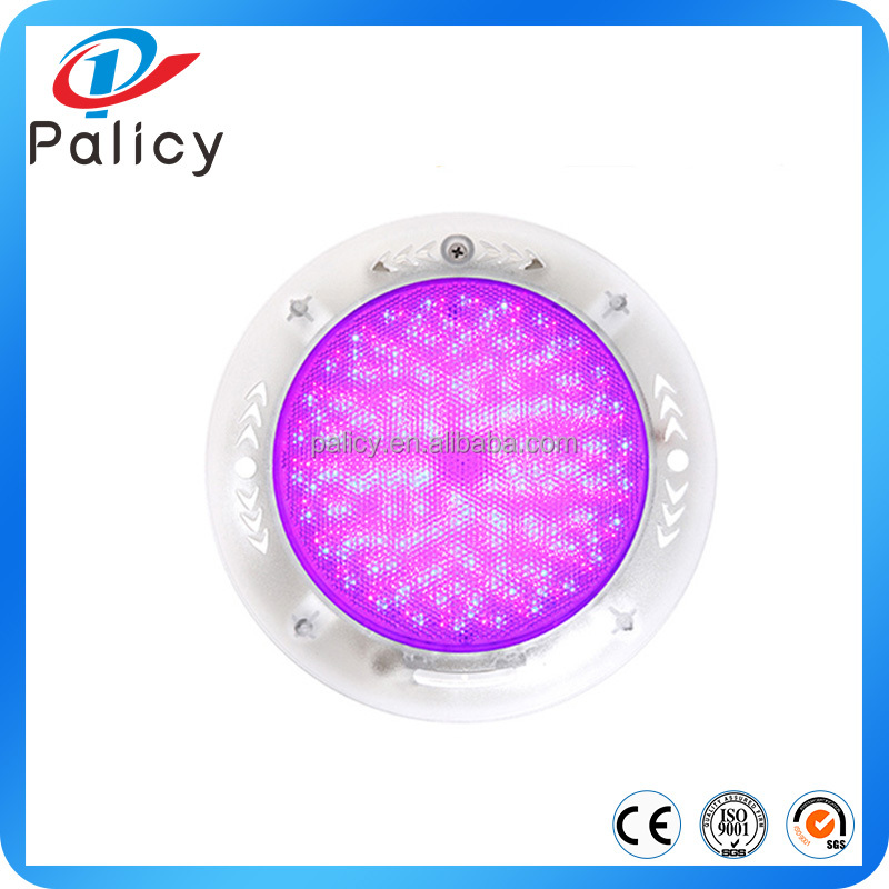 IP68 SS surface mounted submersible 12v underwater lights multi color led swimming pool light