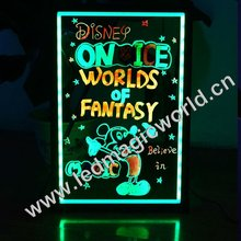 High quality flashing led hanging message board