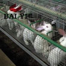 Low Carbon Steel Design Modern Farm House Stacking Rabbit Cages