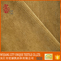 striped design composition textile auto upholstery fabric, corduroy fabric