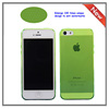 0.6mm ultra thin clear tpu mobile phone case for i5