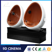 2016 Factory Price Shop Mall Theme Park Game Machine 9d Egg VR Simulator 9d Virtual Reality Cinema